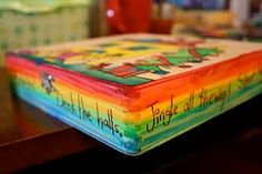 Let the kids paint dollar store wood boxes...to give as gifts, or to hold their treasures!