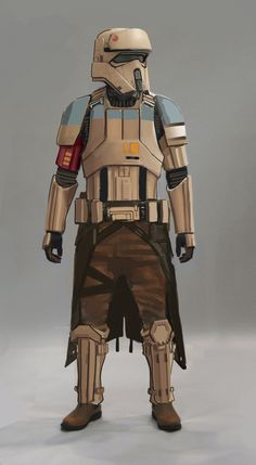 """Rogue One"" introduces us to a few Stormtroopers. Here's one of the looks made for the Scarif trooper."
