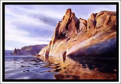"""""""Morning In Hole In The Rock"""" By David Drummond"""