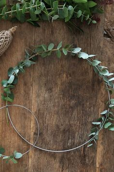 Christmas wreath by trendenser eucalyptus