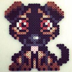 Dog perler beads by brennau1465