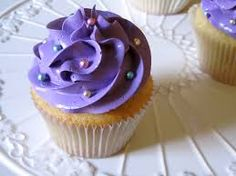 Image result for large cupcake purple frosting