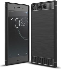 Sony-Xperia-XZ1-Polished-TPU-Cover-Black