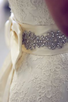 Love the idea of blue sparkly/lacy detail on the dress