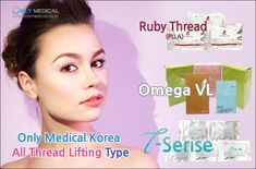 Only Medical Korea Thread lifting All type product ✅ Omega VL ✅ Omega VL Original / Omega VL Original L cannula / Omega VL Spike / Omega VL Spike L cannula / Omega VL Little1,2,3,4 / Omega VL Cog Screw / Omega VL NB1,NB2 / Omega VL L cannula (for nose) / Omega VL M (monofilament) / ✅ T-Serise ✅ T-Mono / T-Screw / T-Cog / T-Cog L / T-Cog Nose / ✅ Ruby Thread (PLLA) ✅ Ruby Cog Thread / Ruby Mono Thread / Ruby Screw Thread / Thread Lift, Omega, Medical, Type, Medicine, Med School, Active Ingredient