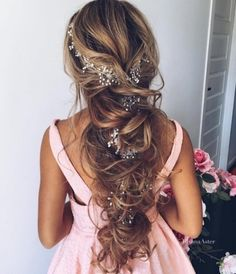 48 our favorite wedding hairstyles for long hair wedding 33 favourite wedding hairstyles for long hair see more junglespirit Images