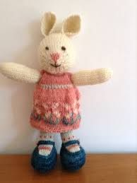 Image result for free little cotton rabbit clothes pattern