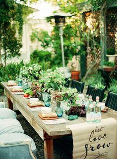 syflove:  garden dinner