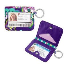 Vera Bradley - Campus Double ID - Heather