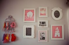 Bella's Shabby Chic Vintage Pink and Gray Nursery  pink and grey