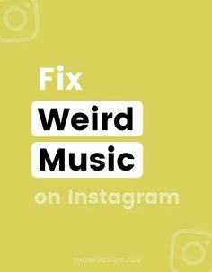 Are you seeing new weird music on Instagram on one of your accounts? Foreign music you've never heard of before? And all the popular songs are gone? Instagram usually fixes these issues within a couple of days. If you don't want to wait, check out these 6 main tricks to get your music back to normal! #instagramtips #instagramstrategy #instagrammarketing #socialmedia #socialmediatips Latest Instagram, Instagram Bio, Strange Music, Weird Music, Social Media Tips, Social Media Marketing, Audio Songs, Instagram Marketing Tips, Management Tips
