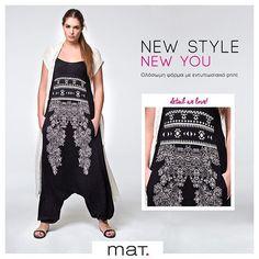 0f8b22abc81 Your new summer style must-have! • Νέα εντυπωσιακή #matfashion μαύρη  ολόσωμη φόρμα