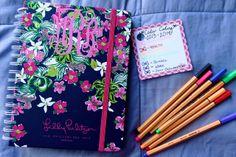 Bowtiful Life: How I Organize My Lilly Agenda