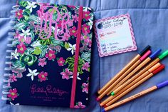 Bowtiful Life: How I Organize My Lilly Agenda