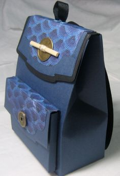 Japan Backpack by ckawamura - Cards and Paper Crafts at Splitcoaststampers