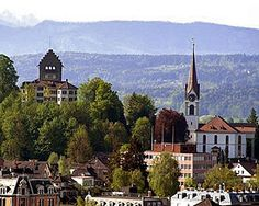 Uster, Switzerland. Can't wait to visit my best friend Kith, husbnd Dirk and baby Dorian!