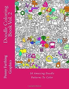 Doodle Coloring Book Vol 2