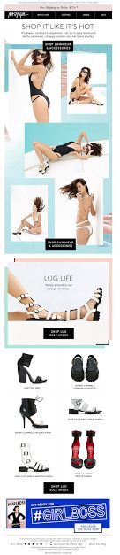 Nasty Gal email 2014