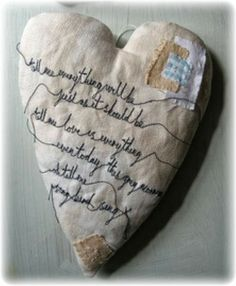 from these hands...: Love, Cloth, & Hearts