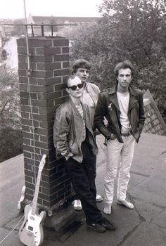Die Time Twisters - 1985  Andreas Henning, Jürgen Jahn, Ralf Wendler  Foto © U. Henning 1985