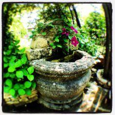 Fontaine provençal Planter Pots, Gardens, Park, Flowers, Plant Pots