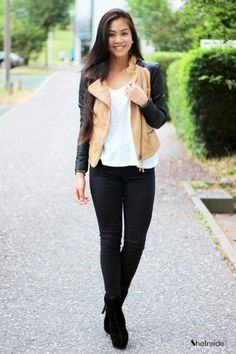 Check out the super cute Leather Jacket!