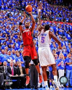c58eb122 Chris Bosh Game 1 of the 2012 NBA Finals Action Photo Print (20 x 24)