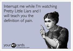 haha <3 Pretty Little Liars