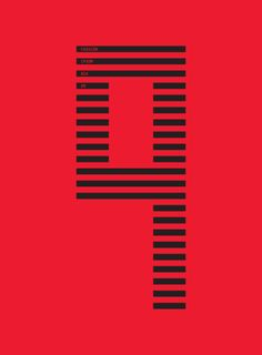 Baubauhaus. Number Typography, Typography Art, Lettering, Graphic Design Posters, Graphic Design Typography, Logo Design, Graphic Eyes, Number 9, Alphabet Soup