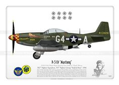 "P-51D ""Mustang"" ""Passion Wagon"" GM-33"