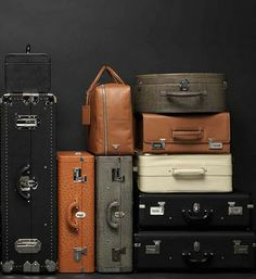 prada luggage travel bag