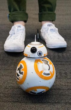 Hasbro's remote control BB-8 droid from Star Wars