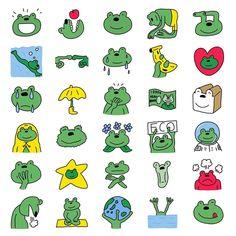 Illustrator NippashiはInstagramを利用しています:「人生初のLINE絵文字も作りました!名前はカエルのあまみです!梅雨のジメジメした気分を癒します(^^)  絵文字はスタンプと同じ全部で40個!スタンプショップの絵文字コーナーで「カエルのあまみ」と検索してもらえるとでてきます! ... #lineスタンプ…」 Japanese, Comics, Illustration, Fictional Characters, Instagram, Japanese Language, Illustrations, Cartoons, Fantasy Characters