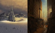 Travel to 25 vast parallel realities created by photographer and Photoshop master Michal Karcz.