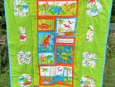Baby/Kids Dinosaur quilt