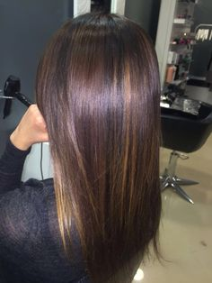 Balayage brunette cioccolato!!!!!