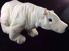 "IKEA Polar Bear Plush Stuffed Soft Toy Klappar Osborn 22"" #IKEA"