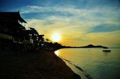 Sunset @ Bophut Beach