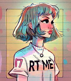 "16.3 k gilla-markeringar, 64 kommentarer - Toonimated (@toonimated_draws) på Instagram: ""✨Wishes✨ - Happy Friday everyone! ✌️️✌️️ #art #drawing #sketch #portrait #featuremecyarine"""