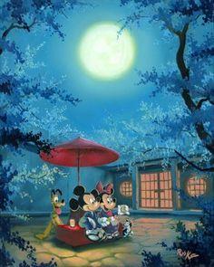 Summer Night - Rob Kaz: Disney Fine Art