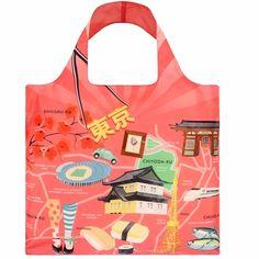 8529a3eb45e Bag Tokyo   Unique Reusable Bag from PIQ Reusable Bags, Reusable Shopping  Bags, Weekender