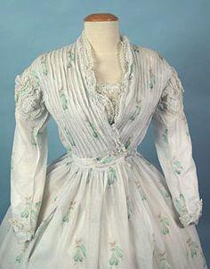 Couture Historique: 1860s Sheer Dress