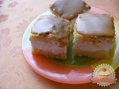 Karamellás piskóta krémes Cheesecake, Dairy, Food, Caramel, Cheesecakes, Essen, Meals, Yemek, Cherry Cheesecake Shooters