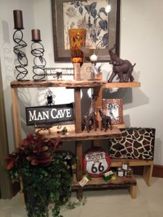We have a variety of items available for your home or business in the St. Mary's Hospital Gift Shop. You can even decorate your Man Cave!