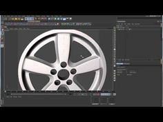 Sub-D Modeling in C4D - Lesson 11 Part 3 - Radial Patterns - Car Rim - YouTube