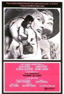 Women in Love (1969) GB United Artists D: Ken Russell. Alan Bates, Oliver Reed, Glenda Jackson, Jennie Linden, Eleanor Bron, Michael Gough. 10/01/12