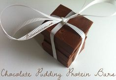 Chocolate Pudding Protein Bars