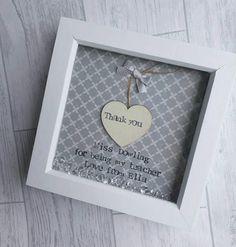 Teacher Gift personalised Thank you Teacher Teacher Frame