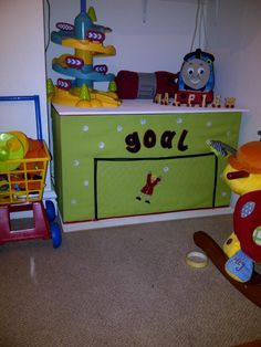 Made my own Toy Box Huger! and the actual Toy Box....Find out more @  http://minimixkidsdesigns.wordpress.com/