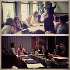 Check out our Access PR colleagues in NY (top) and San Francisco (bottom) holding their creative brainstorms for NGOs National Kidney Foundation and TechSoup. #90for90